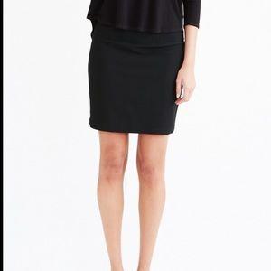 Eileen fisher stretch crepe highwaist skirt XS #A0